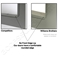 Williams Brothers Stainless Steel GP 100 Series Premium Access Door for Walls & Ceilings - WB-GP-100-SS-6x6