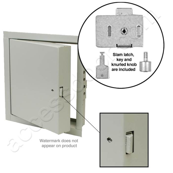 Williams Brothers Stainless Steel FR 800 Series Standard Fire Rated Access  Door For Walls U0026 Ceilings